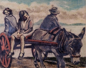 William Conor the donkey cart 275x220 - Belfast Walking and Taxi Tours